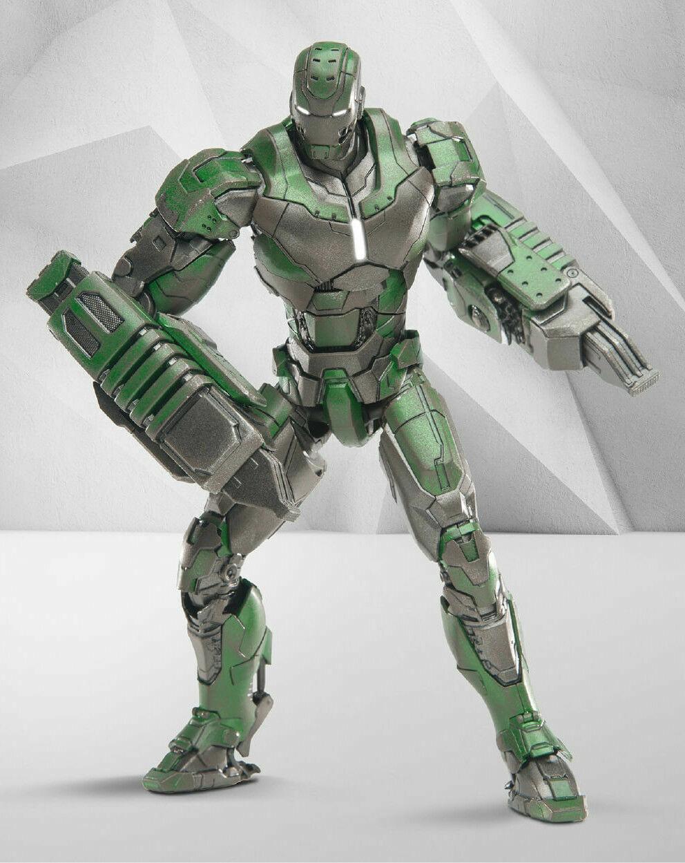 1 12th Metal Diecast Iron Man MK26 comicave Studios Gamma 6  Figura Modelo Muñeca