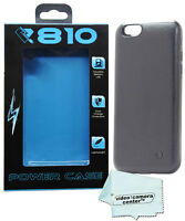 Lithium Polymer Rechargeable Battery Case 3000 Mah For Iphone 6s & 6 (black)