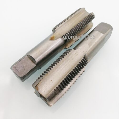US Stock HSS 24mm x 1 Metric Taper /& Plug Tap Right Hand Thread M24 x 1mm Pitch