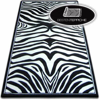 versch Farben 10 Größen Modern Abstrakt Weich Dick Teppich FOCUS 9032 zebra TOP