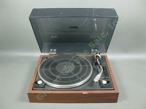 Vtg-Sansui-SR-212-2-Speed-Belt-Drive-Auto-Return-Turntable-Record-Player-As-Is