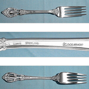 """LUNT STERLING 7 7/8"""" FORK(S) ~ ELOQUENCE ~ NO MONO"""