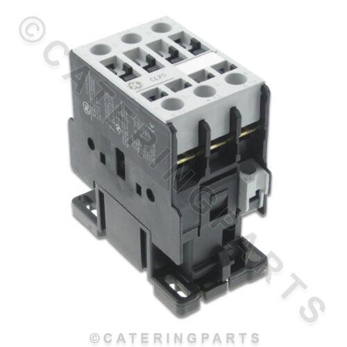 CO07 GE CL25 AEG LS11K 45 amp CONTACTOR RELAY 230V COIL 3xN//O 45a PER PHASE