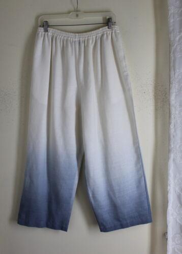 ivoire bleu Eskandar large Pantalon en 2 indigo japonais japonais sz coton qvUUw6aH