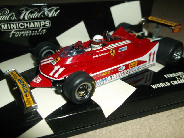 Brumm Ferrari 312 T4 # 11 Monaco Gp 1979-Jody Scheckter Campeón Del Mundo 1//43