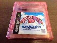 Koro Koro Kirby Tilt 'n' Tumble Nintendo GBC GameBoy Color Japan Japanese