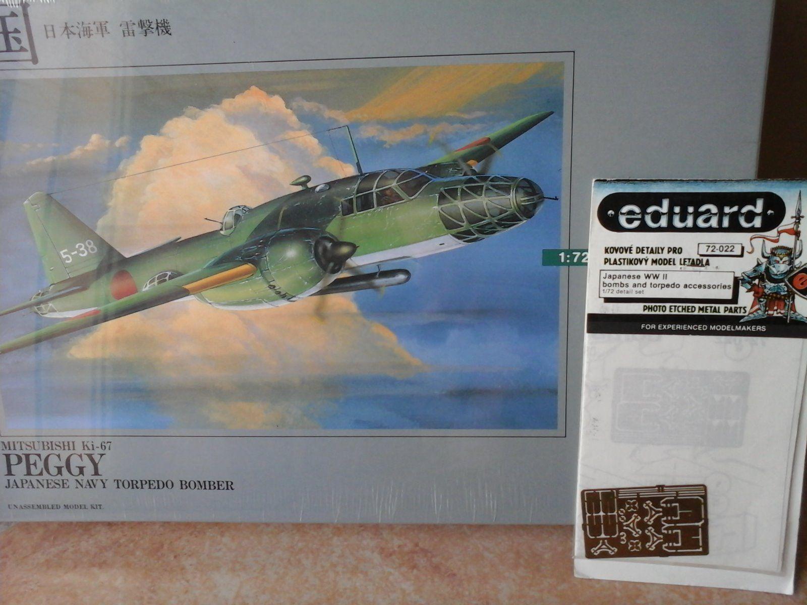garantizado MITSUBISHI KI47  PEGGY  TORPEDO BOMBER 1 1 1 72 SCALE ARII MODEL JAPAN+PHOTOETCHED P  punto de venta en línea