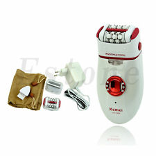 Lady Rechargeable Cordless Hair Removal Body Facial Hair Epilator Trimmer NEW