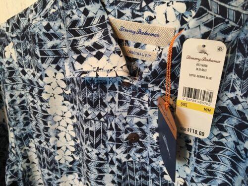 hemdHawaiian bloemenblauw herenmaat zijden Tommy medium Bahama 8kNnwPZ0OX
