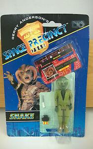 SPACE-PRECINCT-Schlange-Actionfigur-gekrempelt-Gerry-Anderson-Sammlerstuck