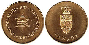 1867-1967-Canada-Confederation-Brass-Token-Coin