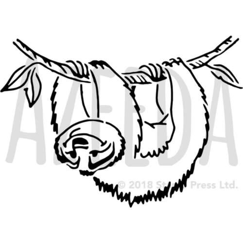 Templates /'Sloth/' Wall Stencils WS021870