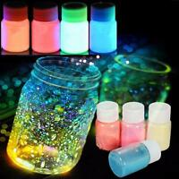 20g Non toxic Glow in the Dark Luminous Paint Bright Pigment Graffiti Home Party