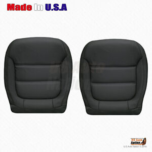2011 - 2017 Volkswagen Jetta Driver-Passenger Bottom Synthetic Leather Cover Blk