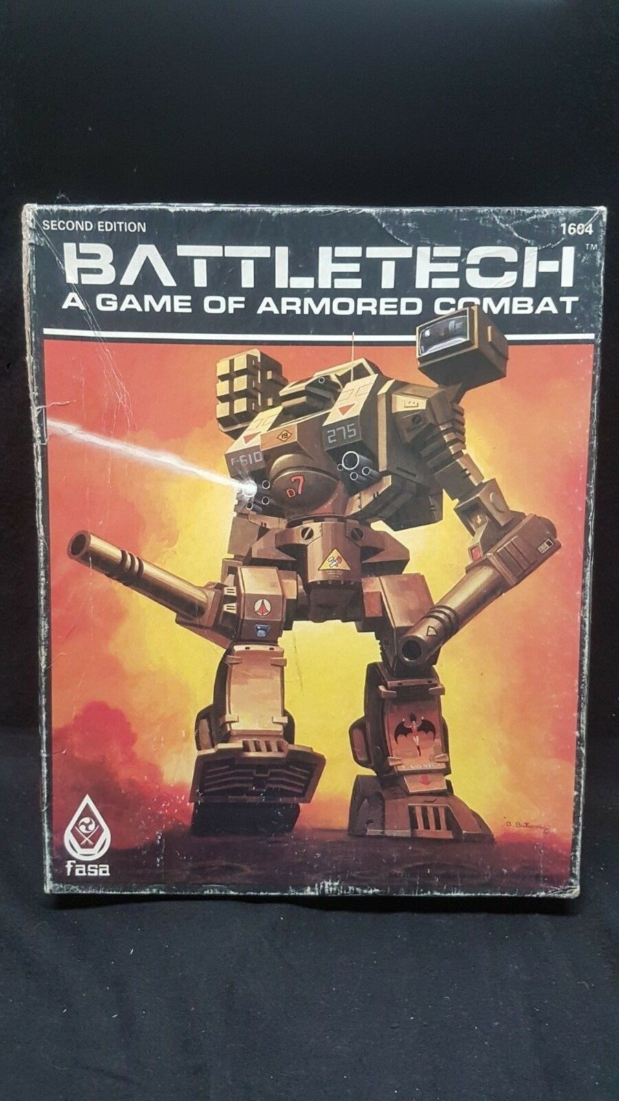 Battletech  A Game of Armored Combat - 2nd Edition roleplaying