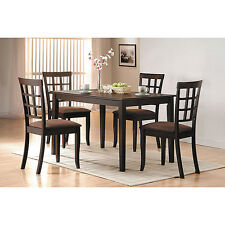 Cardiff Espresso Finish Dining Chair (Set of 2)