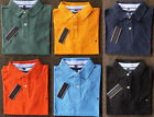 Tommy Hilfiger Polo Shirt Mens Custom Fit New With Tags Tshirt Clearance SALE!!