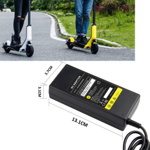 42V 2A Electric Scooter Battery Charger For Mijia M365 Segway Ninebot ES1 ES2 CC