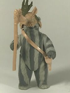 Star-Wars-Vintage-Kenner-Action-Figure-Teebo-Complete-LFL-1985-NO-COO-NM-Ewok