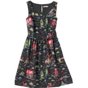 Cath Kidston Cowboy Print Dress Size 6