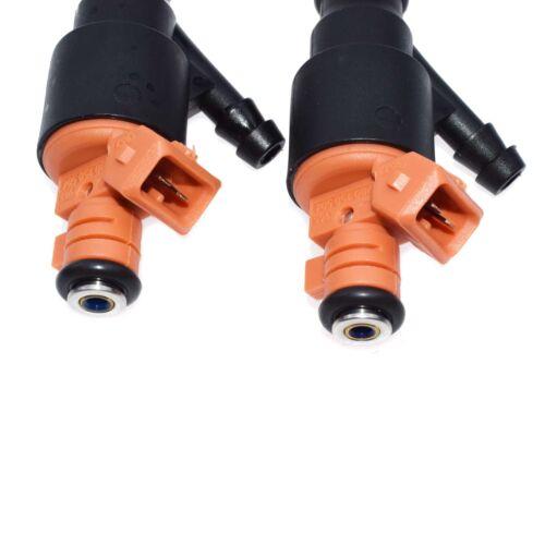 2PCS Fuel Injectors Nozzle 0280150504 For 1995-2002 Kia Sportage 2.0L 842-12231