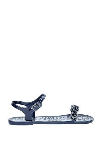 HOLSTER Ladies' Fashionista Navy Jelly Flats Sandals