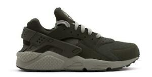 newest c4a9f 92b57 Image is loading Mens-NIKE-AIR-HUARACHE-Dark-Green-Trainers-318429-