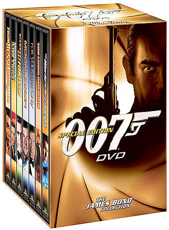 The James Bond Collection Special Edition 007 Dvd 7 Pack Volume 2 Dvd 2003 7 Disc Set Seven Disc Set For Sale Online Ebay