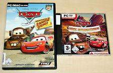 2 PC juegos Disney Pixar Cars Hook International & aventura en Radiador Springs