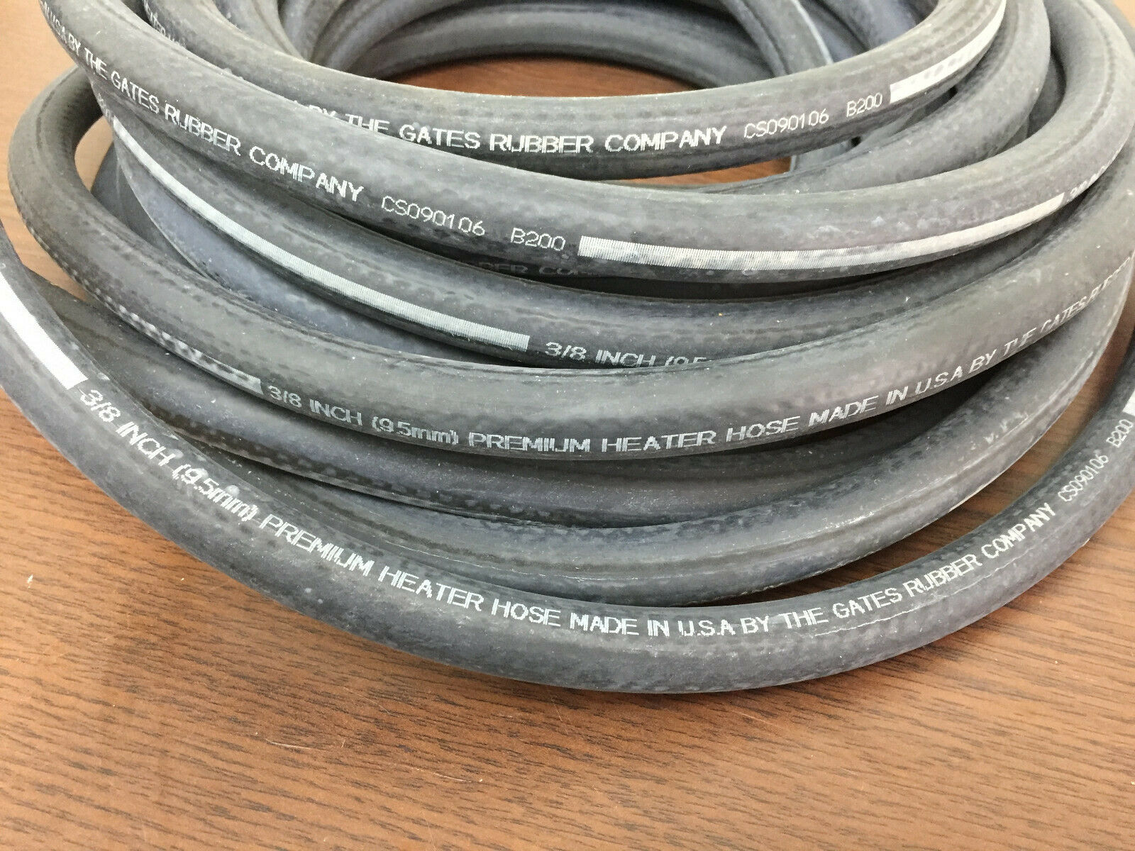 "Fuel Line 5//16/"" x 25/' Spool Roll MADE IN USA GAS HOSE  PRIORITY SHIPPING"