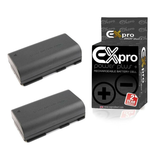 2 X Ex-appareil Photo Pro Batterie Bp-911 Bp-914 Bp-915 Bp-930 Bp-941 Pour Canon Gl1 Gl2