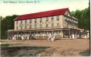 S21-2430-Vintage-Postcard-Hotel-Klippel-Sylvan-Beach-NY-c-1910