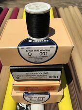 1... Gudebrod HT Metallic Fishing Rod Winding thread Size A Color Gold 9000