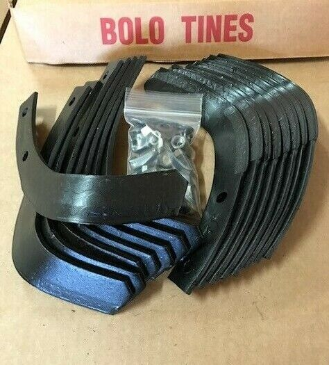 Troy Bilt 1901118 Horse Pony Tiller Tines 10802 Tine Set W//Hardware Troy Built