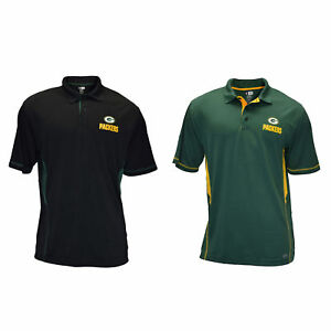 Authentic NFL Green Bay Packers TX3 COOL Polo Shirt With Team Logo ... 6b4f742cb