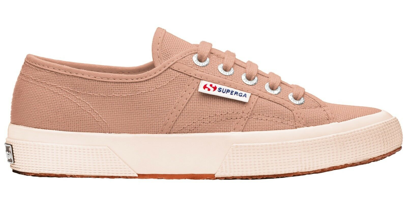 Superga 2750 Cotu Clásico Zapato De Caoba De De De rosado ()   oficiales del Reino Unido Superga Distribuidor  comprar marca