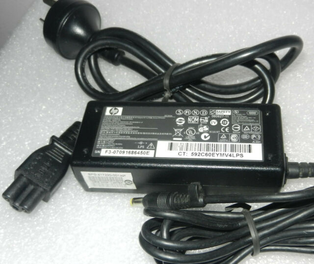 Genuine HP 380467-003/3801090-001 18.5V 3.5A 65W AC Adapter tip Size:4.8mm*1.7mm