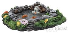 Vivid Arts - MINIATURE WORLD FAIRY GARDEN HOME ACCESSORIES - Rock Fish Pond