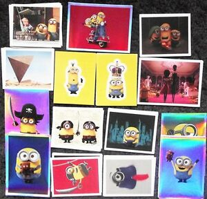 Bundle-Lot-of-60-Topps-Minions-Stickers-dated-2015