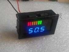 Battery indicator capacity Tester + led voltmeter for 12v Acid lead Battery car