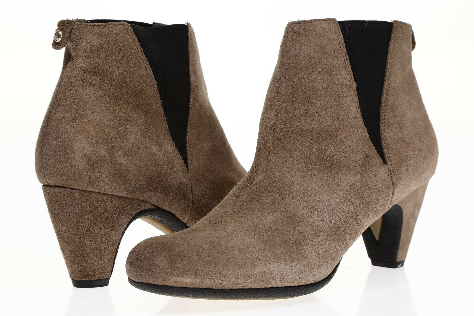 SAM EDELMAN Womens Taupe Suede Ankle Boots Sz 8 M NEW  220638