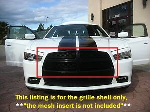 Mopar Dodge Charger R T Gloss Black Grille Surround Grill
