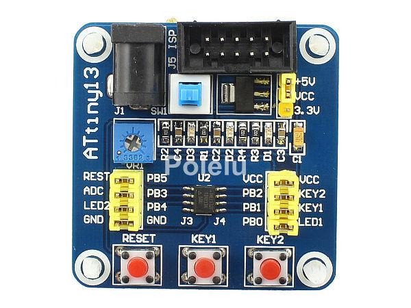 ATtiny13 Development Board  AVR Mini System With USB Cable