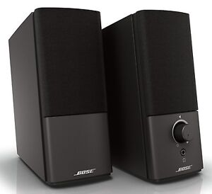 bose companion 2 series iii black computer speaker system new version 3 17817602853 ebay. Black Bedroom Furniture Sets. Home Design Ideas