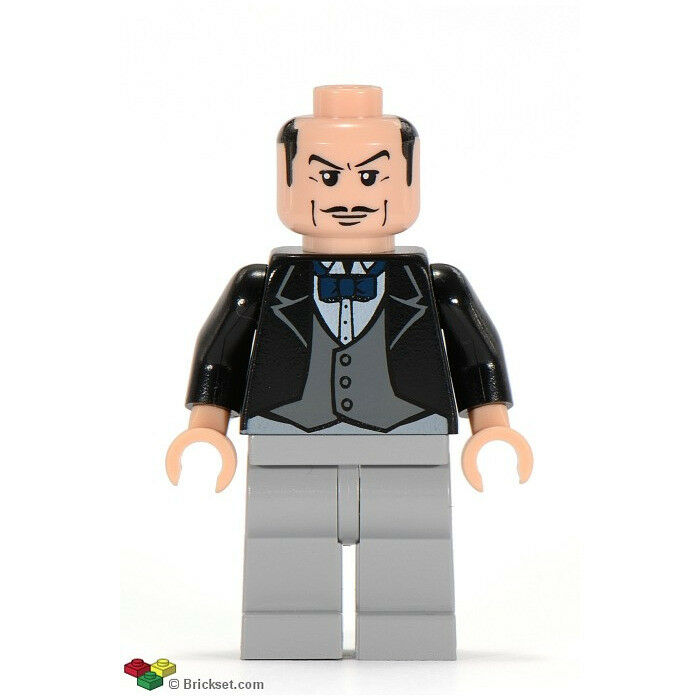 LEGO DC Super Heroes: Batman: AlfROT Pennyworth, the Butler - Bow Tie Minifigure