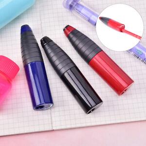 Rotating-Single-hole-Eraser-Rubber-amp-Pencil-Sharpener-Kids-School-Supplies-DD