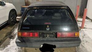 1987 Honda Civic S
