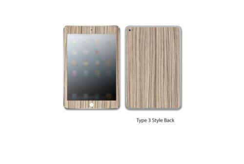 iPad Mini 1,2,3,4 Skin Kit WRAP DECAL STICKER SKIN Wood STICKERBOY