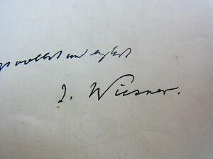 search for Botaniker Julius von WIESNER (1838-1916): Eh
