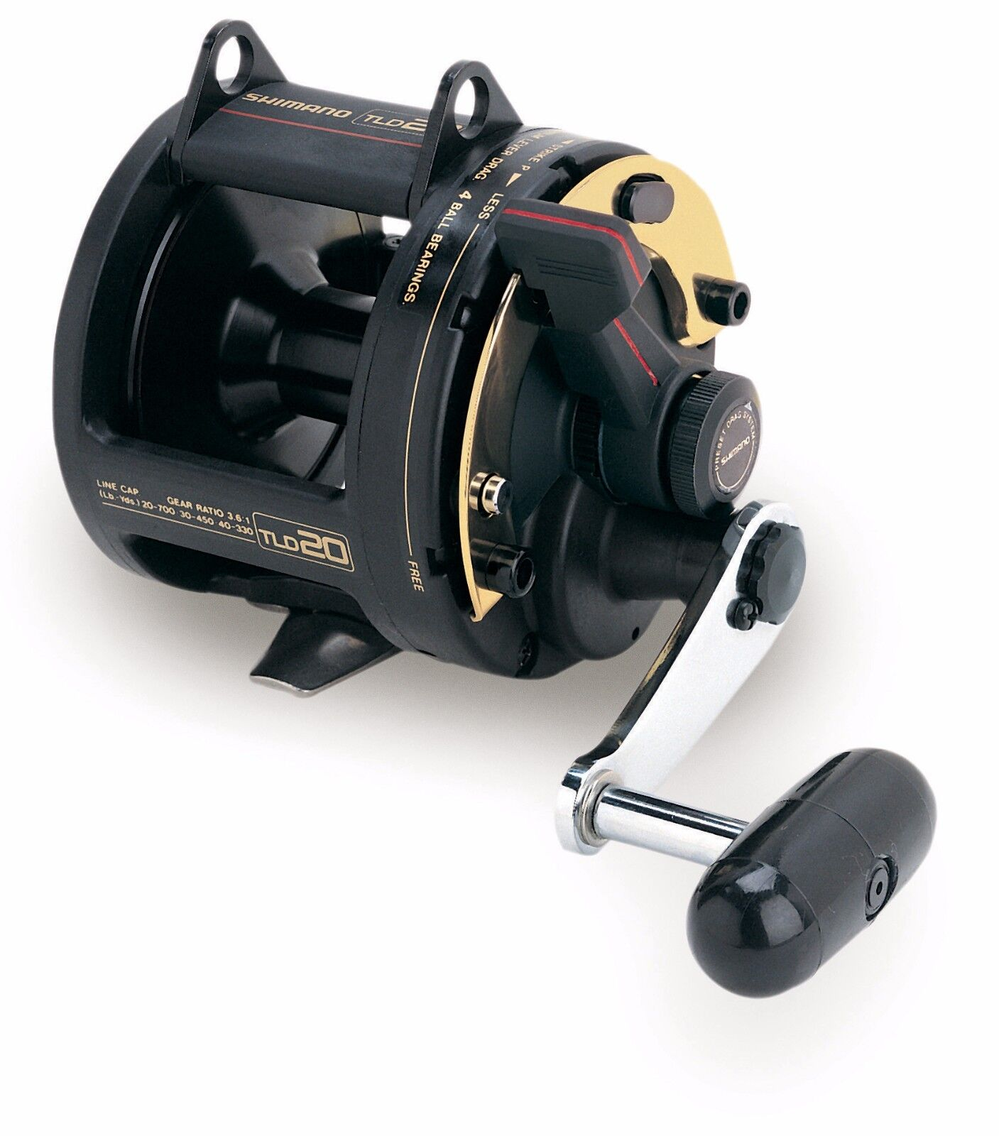 Set of 4 Shimano TLD 20 Lever Drag Conventional Reel-Free Expedited Shipping